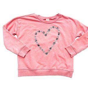 Gymboree Gemstone Heart Pink Sweatshirt